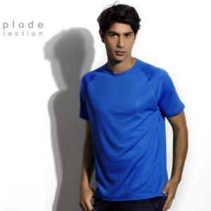 plava sportska muska majica